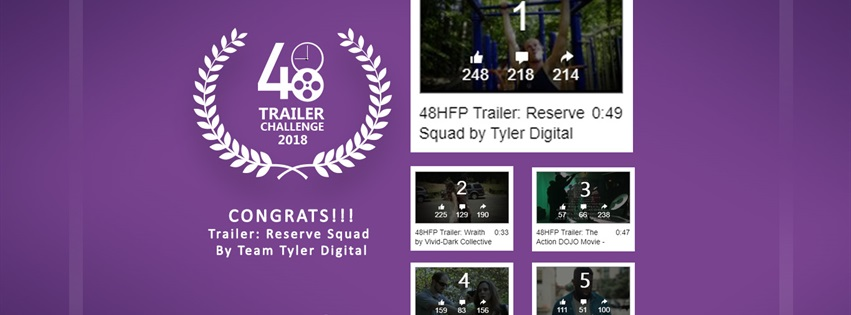 The Winner Of The 2018 48HFP Trailer Challenge Is...